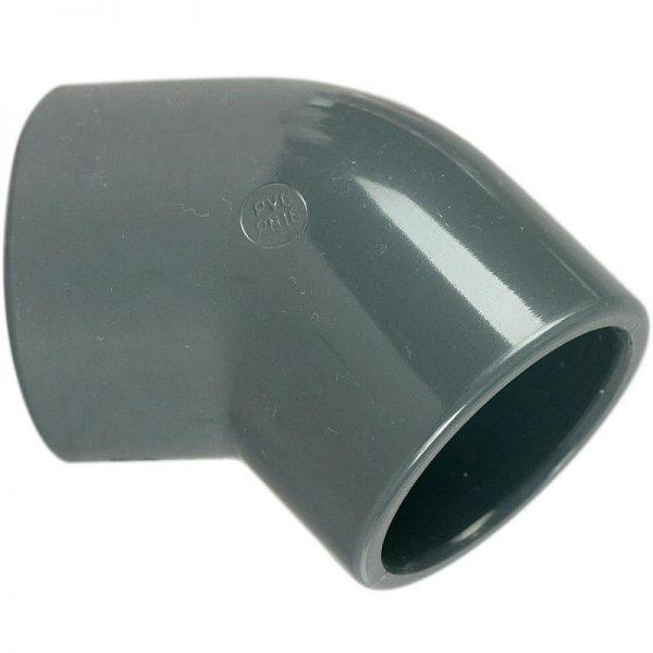 COUDE PVC PRESSION 45¡ ¯ 25