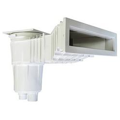 Skimmer miroir - ligne d'eau rŽhaussŽe et eau correctement filtrŽe